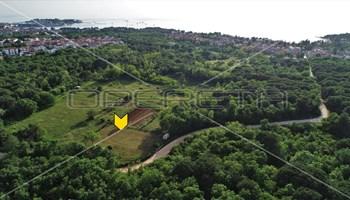 Građevinsko zemljište za 2 vile, površine 2000 m2, Poreč