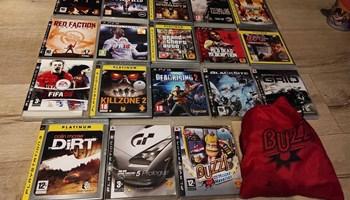 Razne igrice za Playstation 3