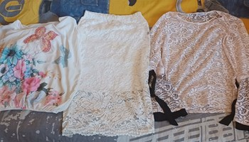 Košujla i suknja od čipke