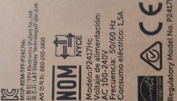 Dell monitor P2417