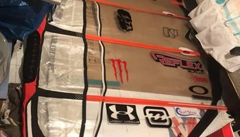 Prodajem windsurf slalom jedro Severne Reflex 7.0, s 4 kambera