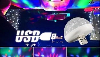 LED USB Ambient RGB Zarulja sa Senzorom za Zvuk