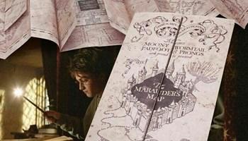Harry Potter Mapa za haranje - Marauders Map
