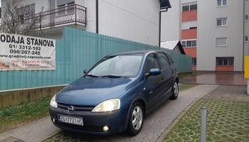 Opel Corsa 12 eleganc  2001g reg 5mij 1vlasnik 140tkm org garazirana 1400e