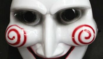 Maska za maškare fašnik Slagalica strave SAW