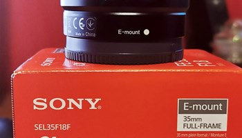 Sony FE 35mm F1.8 OSS