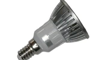E14-3WT LED žarulja E14, 3W/220V 250lm, topla bijela 3000K, reflektorica