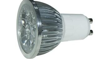 GU10H4W220V LED žarulja GU10 4x1W 220V, hladna bijela - Epistar