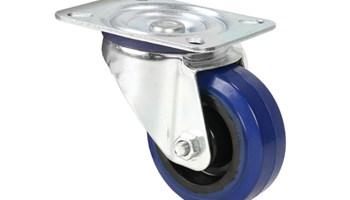 AH372081 Adam Hall Kotač 80 mm, plavi za rack