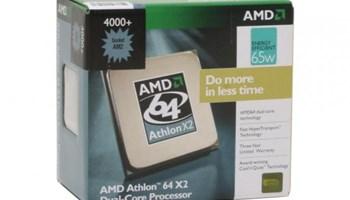 AMD ATHLON 64 X2 4000+, 2.1 GHZ, 1MB CACHE, SOCKET AM2