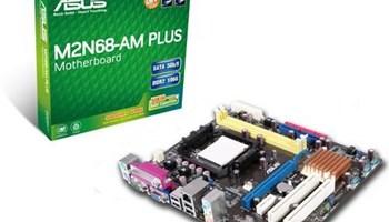 ASUS M2N68-AM PLUS, SOCKET AM2/AM2+/AM3, DDR2, VGA, MATX, REV 2.01
