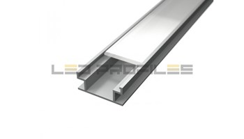 [LP401-MLK] LED profil, Floor, podni mliječni pokrov, 2m
