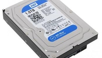 WD BLUE WD10EZRZ, 1000GB, 5400 OKR./MIN, SATA3, 64MB CACHE