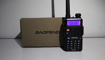 Baofeng UV-5R 5W Dual Band Radio