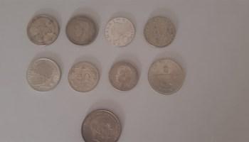 Lot srebrnih kovanice