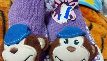 Papuče majmun za novorođenče