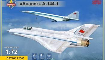 Maketa aviona avion MiG Analog A-144-1