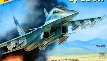 Maketa avion Sukhoi Su-32 Suhoj