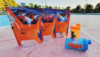 1 kg-100% Whey protein performance Mhn sport 33 doze