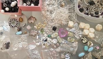 Lot materijal za izradu nakita
