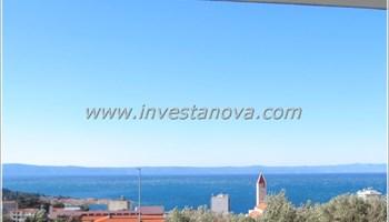 Jednosoban stan u mirnom dijelu sa pogledom na more - novogradnja
