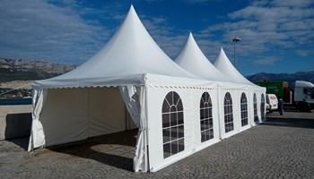 Najam šatora (pagoda)->Splitsko-dalmatinska županija