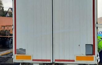 Aluminijska vrata za prikolicu/poluprikolicu/kamion