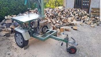 Piljenje drva za ogrjev