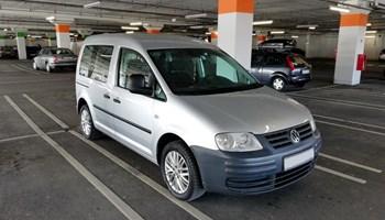 VW Caddy 1.9 TDI, 2007g., reg. do 7/2021