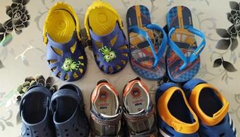Sandale za dječake, croscs...
