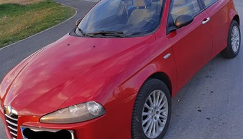 Alfa Romeo 147 1.9 JTDm, 88kw, očuvana, 2006g