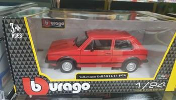 Model maketa automobil VW Golf I GTI 1/24 1:24