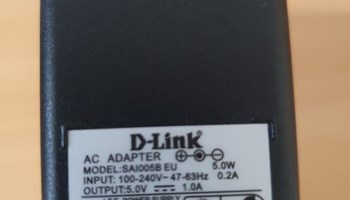 D-Link Strujni AC DC ispravljač adapter
