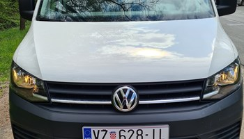 VW Caddy 2016, 2-0 TDI Blue Motion, 2016.g., 125 tkm, 2 bočna vrata, reg. do 04/2022