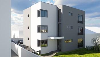 Stan: Osijek, Novi Grad, urbana vila u izgradnji, 2.kat, 108 m2+lođa! (prodaja)