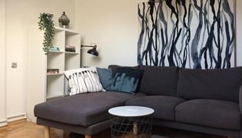 Iznajmljujem stan , dvosoban 45m2 ,moderno uređen, parking + korištenje dvorišta - DOSTUPAN ODMAH