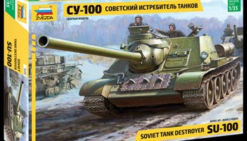 Maketa tenka tenk SU-100 1/35