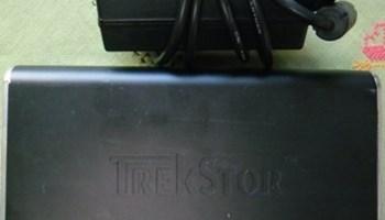 Prijenosni HD 400 GB Trekstor sa adapterom 220/12/5V, usb kabel, ispravan, malo korišten