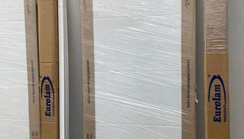 Sobna bijela desna vrata 850 x 2000 mm (puna)