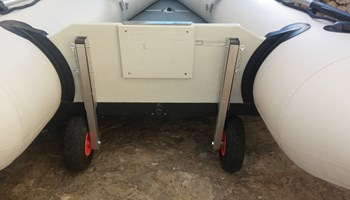 Pomoćni kotači za čamac