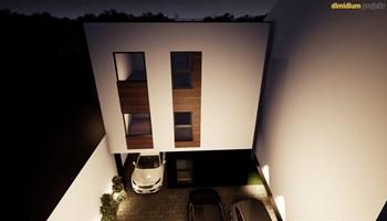 Stan: Osijek, Donji Grad, urbana vila u izgradnji, prizemlje , 78 m2+ dvorište 100 m2 + natkrivena garaža + natkrivena terasa 20m2 + ostava 12m2 (prodaja)