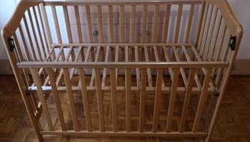 Kinderbet (dječji krevetić) drveni