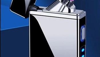 Novi USB punjivi elektrolučni plazma upaljač, crna boja