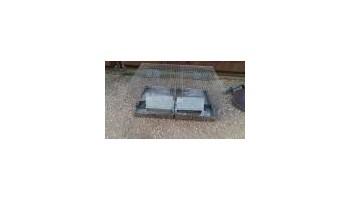 Gajba kavez za glodavce dim. 80 x 50 x 38 cm