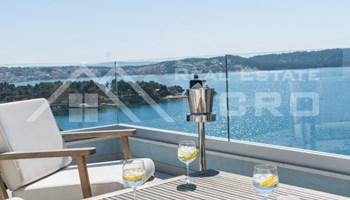 Nekretnine Čiovo - Luksuzni penthouse s panoramskim pogledom na more, na prodaju