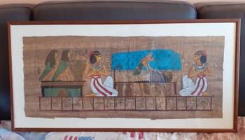 Egipatske papirus slike sa okvirom