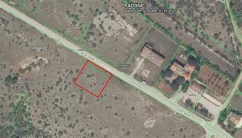 Prodajem građevinsko zemljište Radonić, 1000m2
