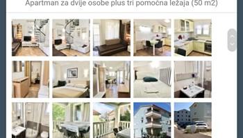 11.6. - 18.6. Baška Krk AP3 2+3 balkon i galerija
