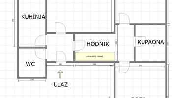 Uređen trosoban stan u novijoj zgradi na Ozaljskoj!
