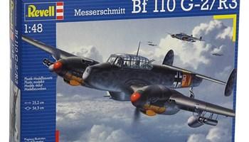 Maketa avion Messerschmitt Bf 110 G-2/R3
